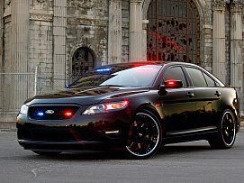 Ford stealth police interceptor tapeta